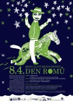 logo mezinárodního dne Romů 2008