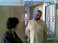 S Pavlem Vaculíkem na jednání v Karlových Varech