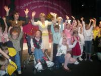 děti se radují