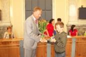 Radní dětského zastupitelstva v Milovicích se sešel s premiérem vlády ČR