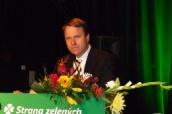 Martin Bursík po znovuzvolení předsedou strany