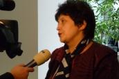 Ministryně Stehlíková dává interview soukromé televizní stanici o situaci týraných dětí