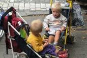 Děti v kočárku