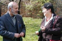 Karel Holomek a Džamila Stehlíková v Hodoníně u Kunštátu