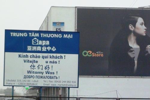 TTTM Obchodní a kulturní centrum Sapa - místo konání sjezdu Svazu Vietnamců v ČR