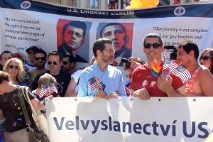 Americký velvyslanec na Prague Pride