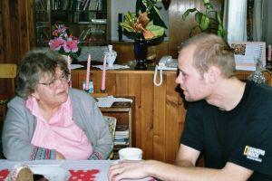 Anna Hammerschmidtová z Kovářské výpráví o osudech své rodiny po válce