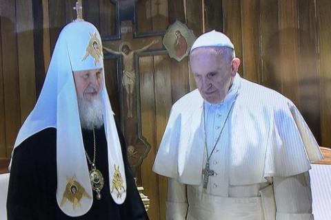 Patriarcha Kirill a papež František
