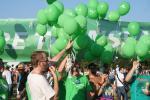 Zelení na Prague Pride