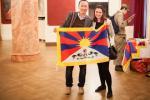 Vzrušená debata v Lucerně: Češi Tibet podporují!